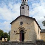 Le Châtenet-en-Dognon - Eglise - Rare clocher-bulbe
