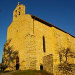 Sainte-Anne-Saint-Priest - Eglise du bourg - Ancienne commanderie templière juchée au sommet d'une butte