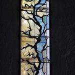 Vitrail contemporain de l'Atelier Martin (2005) - Eglise de Rempnat - http://www.atelier-martin-vitrail.fr/