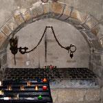 Le légendaire tombeau de saint Léonard - Collégiale de Saint-Léonard-de-Noblat