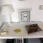 Gästebuch, Info-Ecke