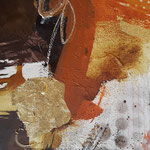 Acryl- Mischtechnik 30 x 30 cm