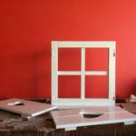 Dekorationsfenster - Auftragsarbeit von der Schreinerei Michels