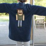 robe de chambre pour enfant Minecraft