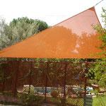 Triangle Tensat Per tapar el sol o la vista