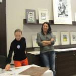 Pia van Nuland, Druckgrafik (mit Tina Mihalic)