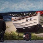 Ostsee Wandmalerei