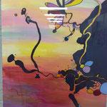 Peinture réalisé par Roselyne