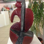 Sculpture réalisé par Christiane 2013