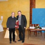 Karlheinz Senkel wird nach langjähriger Vorstandsarbeit verabschiedet