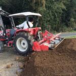 植え替えの用土も手作りです