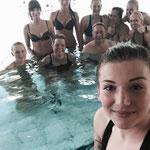 Schwimmbad Aqua Fun Wahlstedt 23.07.2015: Aqua Cycling