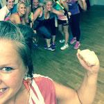 Sportscheune fit & Fröhlich 14.08.2015: TRX Workout