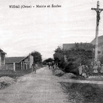 Le calvaire (photo de 1906)