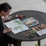 Peinture en exterieur