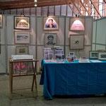 Stand au marché des arts à Argenteuil 2015