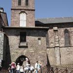 Saint- Jean-pied-de-port - l'église
