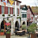 La Bastide Clairence - maisons typiques