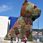 Bilbao - entree du Guggenheim