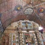 Harambeltz - intérieur de la chapelle