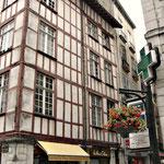 Bayonne - maisons typiques