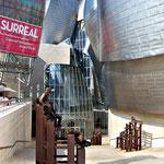 Bilbao - entree du musee