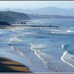 Biarritz - la cote des basques
