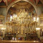 Saint Jean de Luz - rétable de l'église