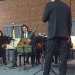 """Senio Diaz e l'Orchestra """"Armonica Temperanza"""" direttore Lorenzo Porzio"""