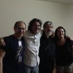 Lorenzo Camejo,Senio Diaz,Oscar Ghiglia Y Maria Isabel Diaz