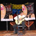 Luis Ballesteros primer premio en la categoría B. en el Concurso Nacional Alirio Diaz II Edición