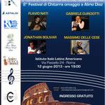 Festival Omaggio a Alirio Diaz 1