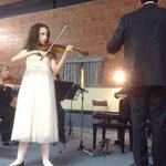 """Gaia Trionfera e l'Orchestra """"Armonica Temperanza"""" direttore Lorenzo Porzio"""