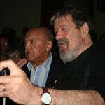 Alirio Diaz y Oscar Ghiglia