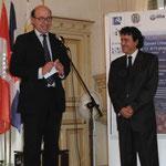 S.E. Ambasciatore Malfatti (Direttore dell' Isituto Italo Latino Americano)- Senio Diaz