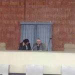 Senio Diaz e Dott. Osvaldo Avallone(Direttore della Boblioteca Nazionale Centrale)