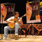 Rheny La Gamma primer premio en la categoría D. en el Concurso Nacional Alirio Diaz II Edición
