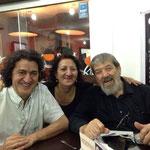 Senio e Maria Isabel Diaz con Oscar Ghiglia - Carora 12.11.13