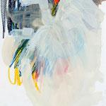 Susanne Möhring, hortus apertus, 2010, Mischtechnik auf Papier, je 40 x 30 cm, gerahmt