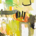 Susanne Möhring, hortus conclusus, 2010, Öl, Lwd, je 100 x 80 cm