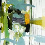 Susanne Möhring, paradise lost, 2011, Öl, Lwd, 100 x 80 cm