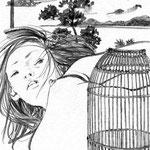 岩井志摩子「愛人の記憶の散逸」19-2 週刊ポスト(小学館) 2007
