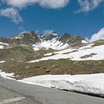 Gavia-Pass - und ja, Schnee lag natürlich auch noch