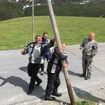 Die Highland-Games ... es schlägt die Stunde unseres Ritters aus dem Tal