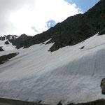 Timmelsjochstraße - Natürlich liegt auch noch Schnee