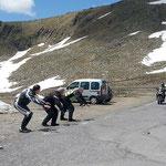 "Gavia-Pass - Der ""Hillclimber"" im Anflug"