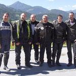 Bei dieser Tour kam Peter von GEZE Austria dazu
