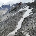 Natürlich noch ein Foto der Tibethütte