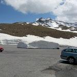Timmelsjoch - Der Schneeräumdienst hat da was vergessen