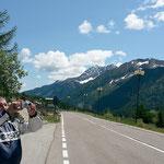 Passo del Tonale - Bruder Oli schießt seine gefürchteten Schwarz-Weiß-Fotos